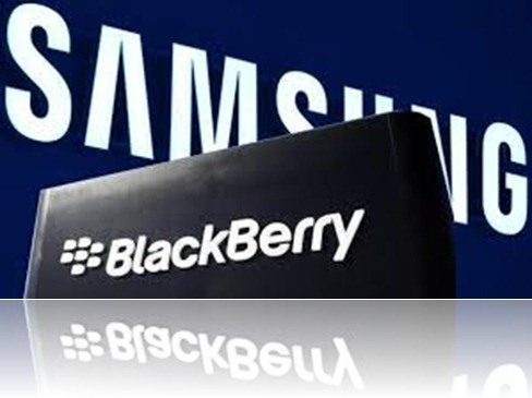 blackberry and samsung