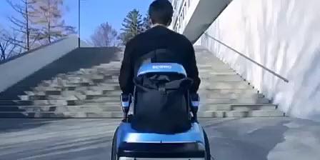 ویلچر هوشمند خودکفا